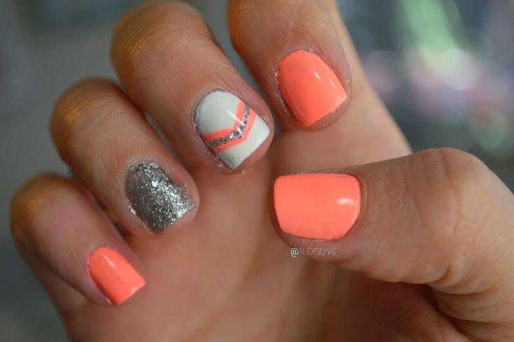 Spring Nail Design #nailedit