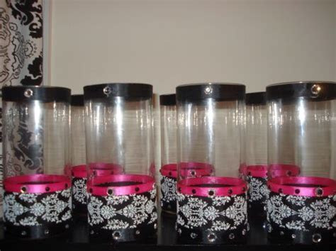 My Inexpensive Damask Centerpieces (Almost Finished