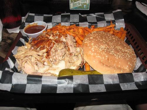 Cruisin Cafe Pulled Pork Sandwich