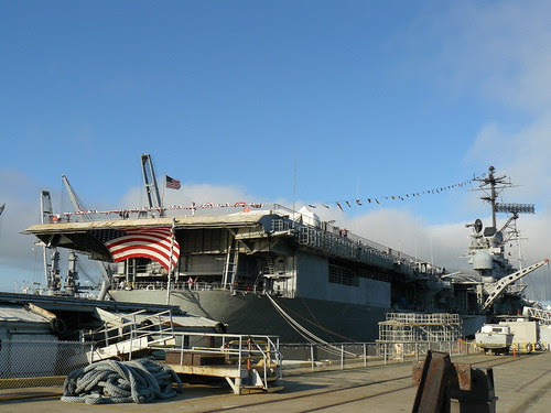 The U.S.S. Hornet (CV-12), commissioned in 1943