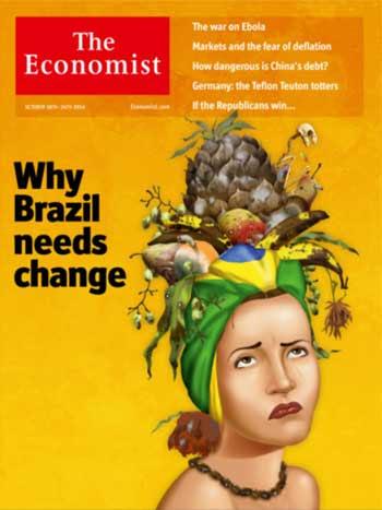 Capa da edição desta semana da 'The Economist' (Reprodução)