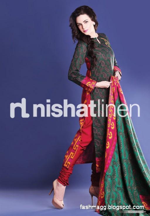 Nishat-Linen-Winter-Dresses-Collection-2013-Nishat-Linen-Fancy-Frocks-Shalwar-Kamiz-7