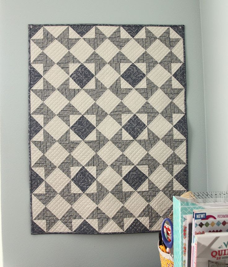 Diary of a Quilter - a quilt blog: Shimmer Stars Quilt