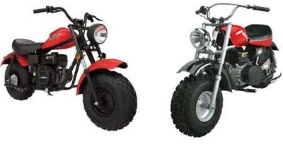 Pizzahutblog: Baja heat mini bike parts