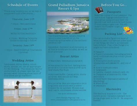 BeachBridein11's Pre Travel Brochure   Grand Palladium