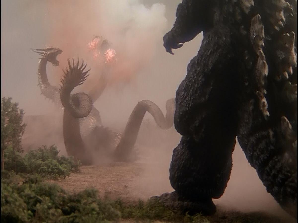 and BOOM goes Godzilla!