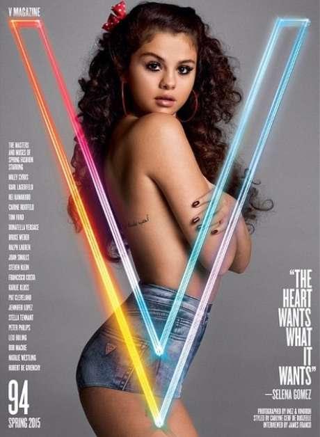 Selena Gomez é capa da nova edição da revista V Magazine Foto: Instagram / @selenagomez / Reprodução