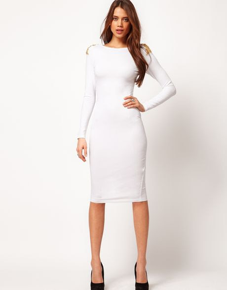 Quality tie dress sleeve white long back bodycon work wholesale cheap