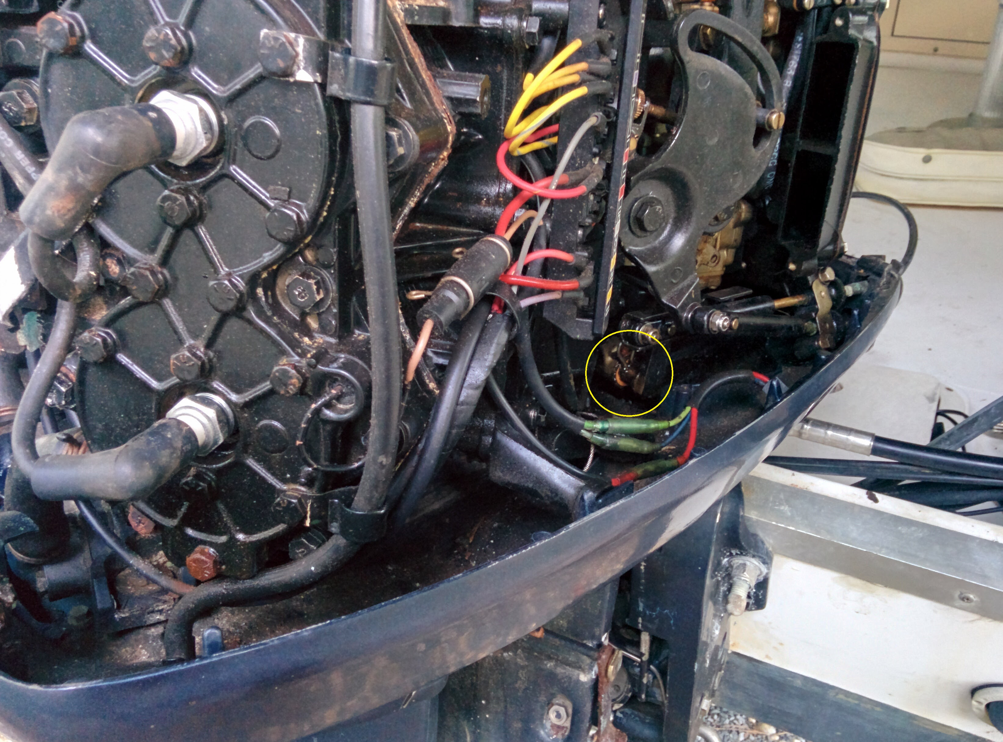 1996 Evinrude 88hp Spl Remove Lower Unit How To Disconnect Shift Rod Pics Boating Forum Iboats Boating Forums