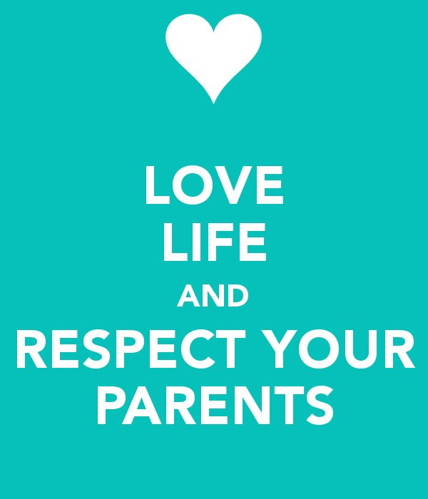 Love And Respect Parents Quote Quote Number 655576 Picture Quotes