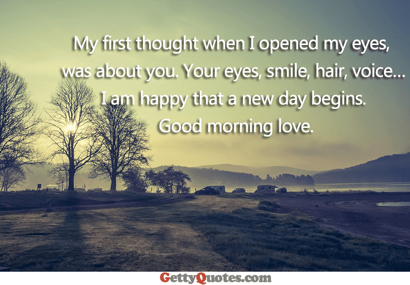 I Am Happy That A New Day Begins All The Best Quotes At Gettyquotes
