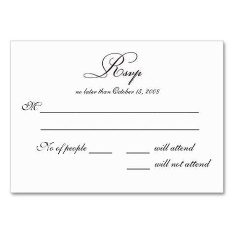 Free Printable Wedding Rsvp Card Templates   vastuuonminun