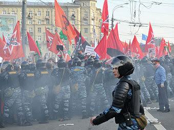"""""""Марш миллионов"""" на Болотной площади 6 мая 2012 года. Фото РИА Новости, Александр Уткин"""