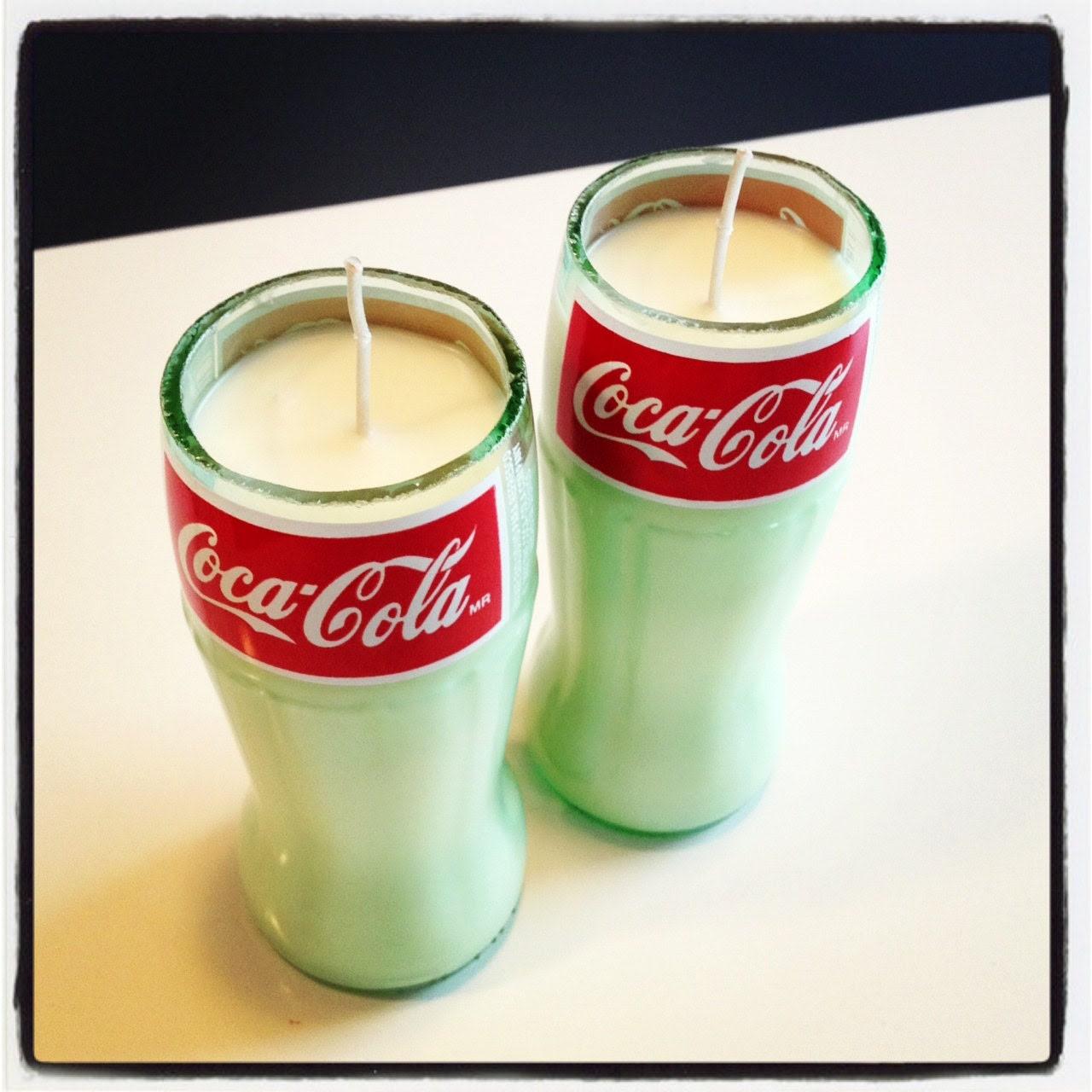 coke candles