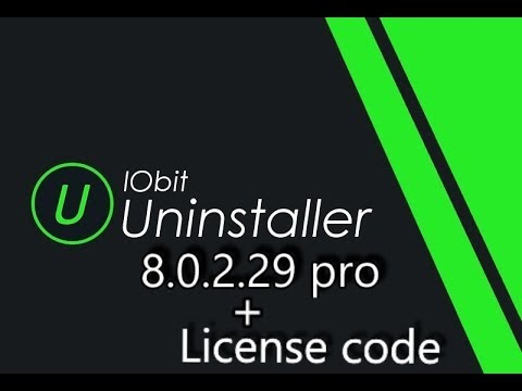 IObit Uninstaller Pro 8 0 2 29 + Seriel Key 2018 by | OneGalaxy |