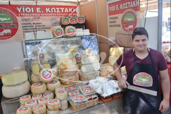 Νεκτάριος Κωστάκης, παραδοσιακά τυριά