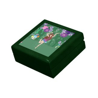 Jen the Dancing Flower Fairy Trinket Box
