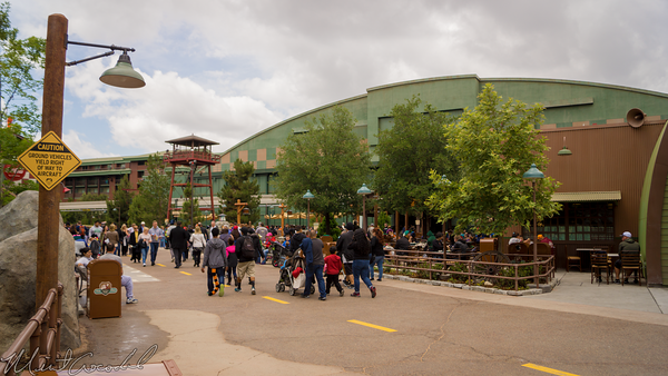 Disneyland Resort, Disney California Adventure, Grizzly, Peak, Airfield, Disneyland60, Soarin, Over, California, Smokejumpers, Grill, Humphry's, Condor, Flats