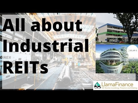 Real reason why I started a Youtube Channel (Vol 7 Industrial REITs up on Youtube!)