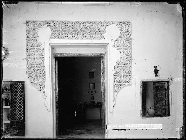 Patio en la Calle de la Merced en el siglo XIX. Fotografía de Casiano Alguacil. Ayuntamiento de Toledo
