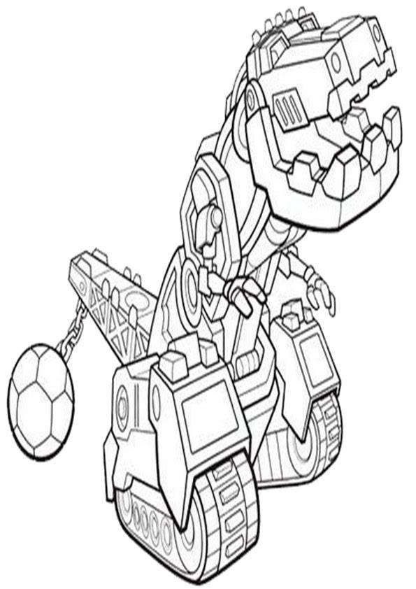 Dinotrux 1 Ausmalbilder Gratis