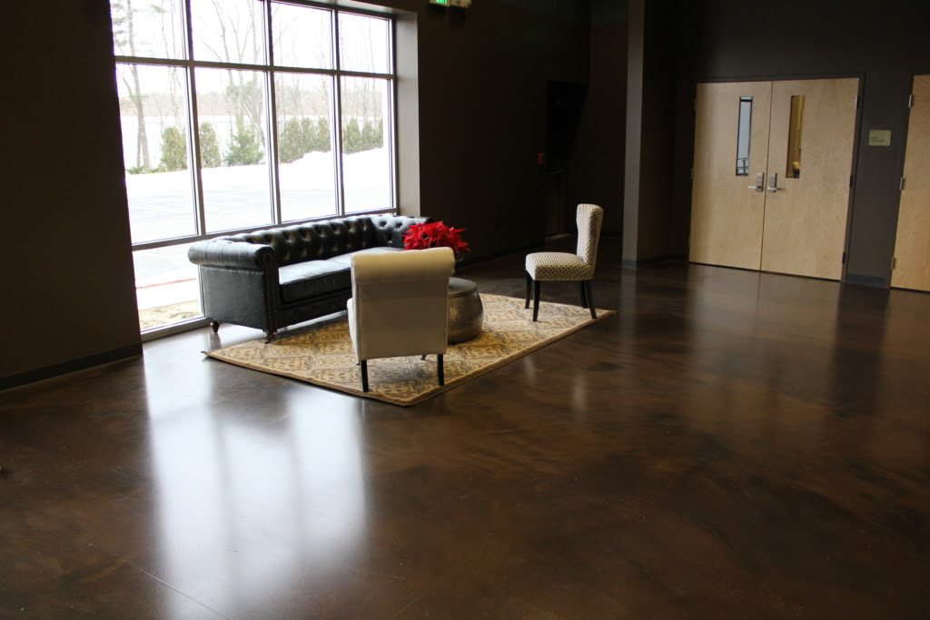 Interior Concrete Overlays Utah Concrete Microtoppings Salt Lake
