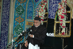 The Torch Bearer of Ahle Bayt -Maulana Athar Mirza Saab by firoze shakir photographerno1