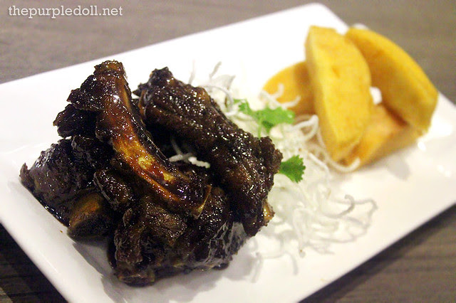 Fried Spare Ribs with Zhen Jiang Sauce (P395)