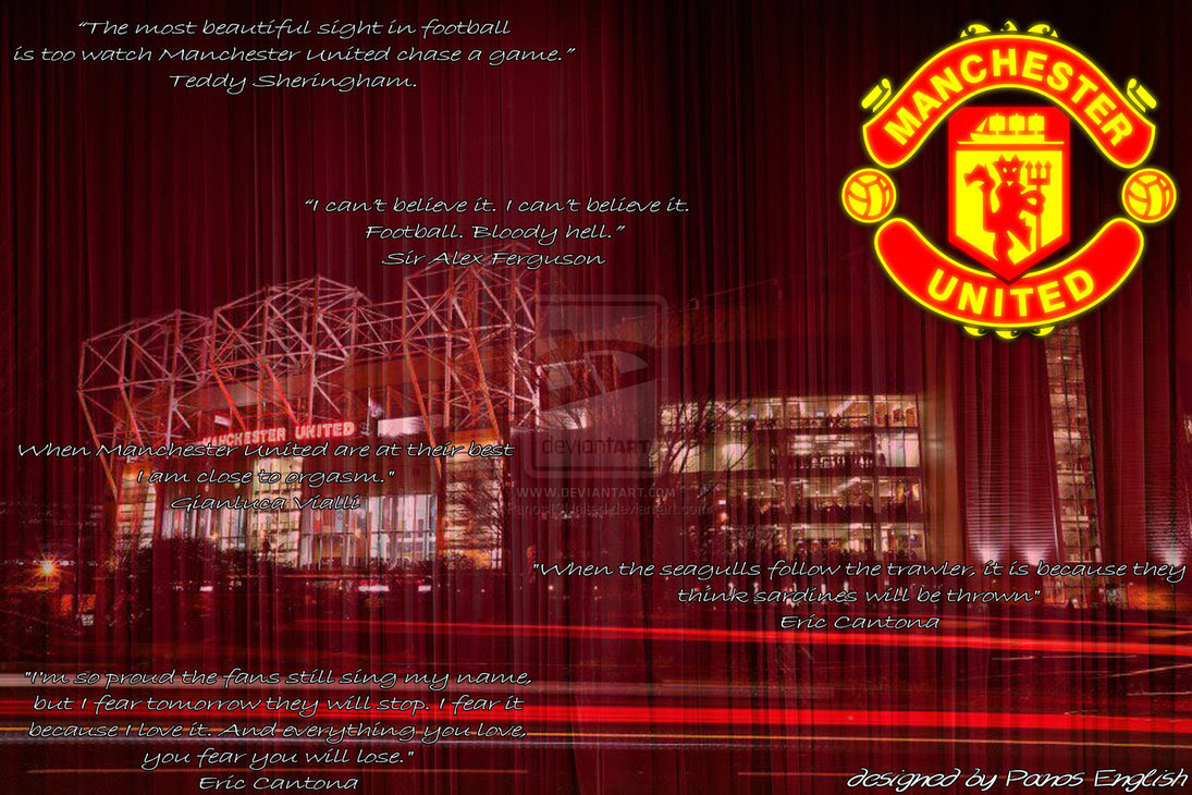 Manchester United Wallpaper Manchester United Believe Wallpaper