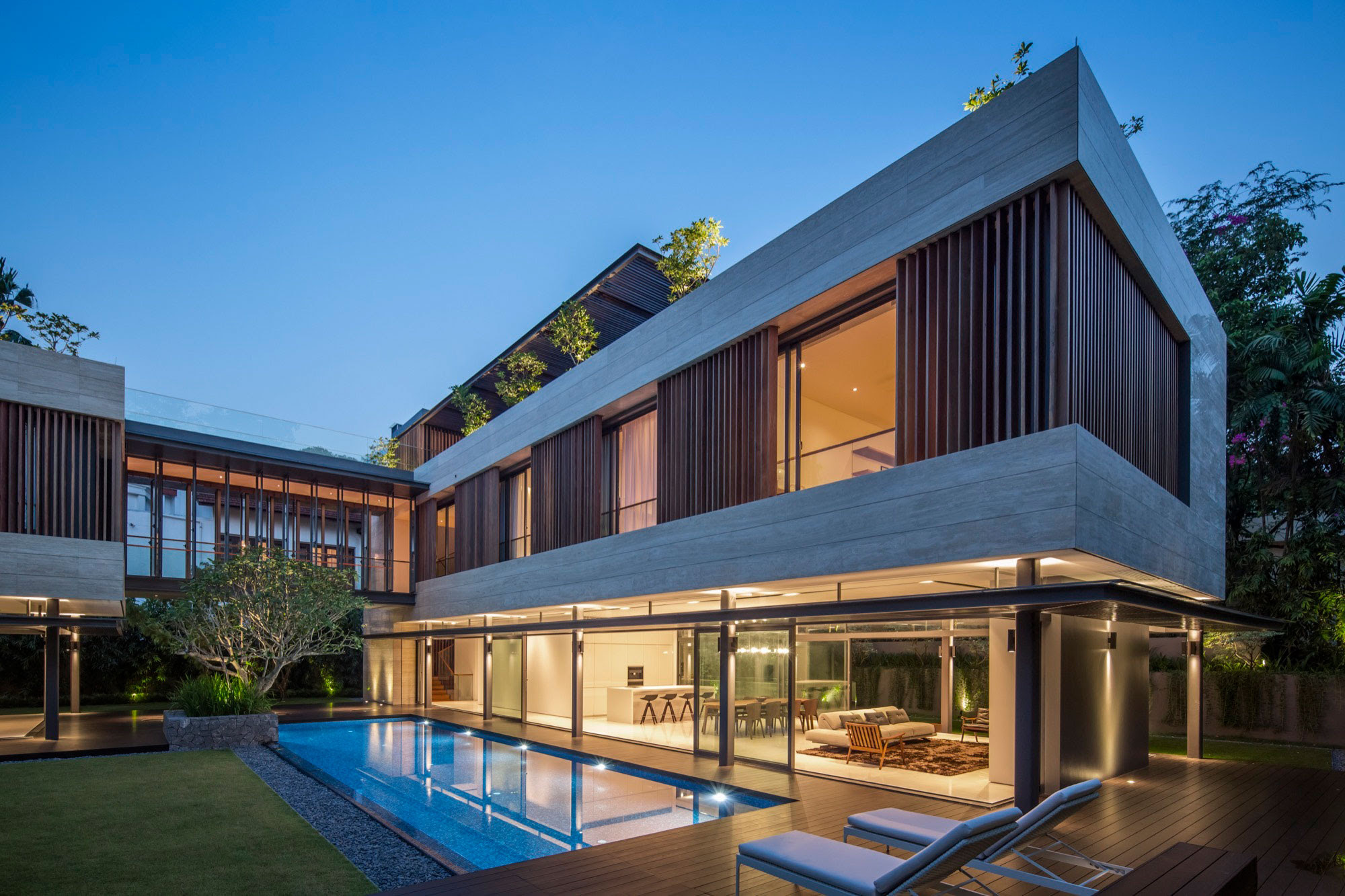 Travertine Dream House / Wallflower Architecture + Design | Design ...