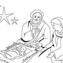 Dibujos Para Colorear Niños Jesus Durmiendo Eshellokidscom