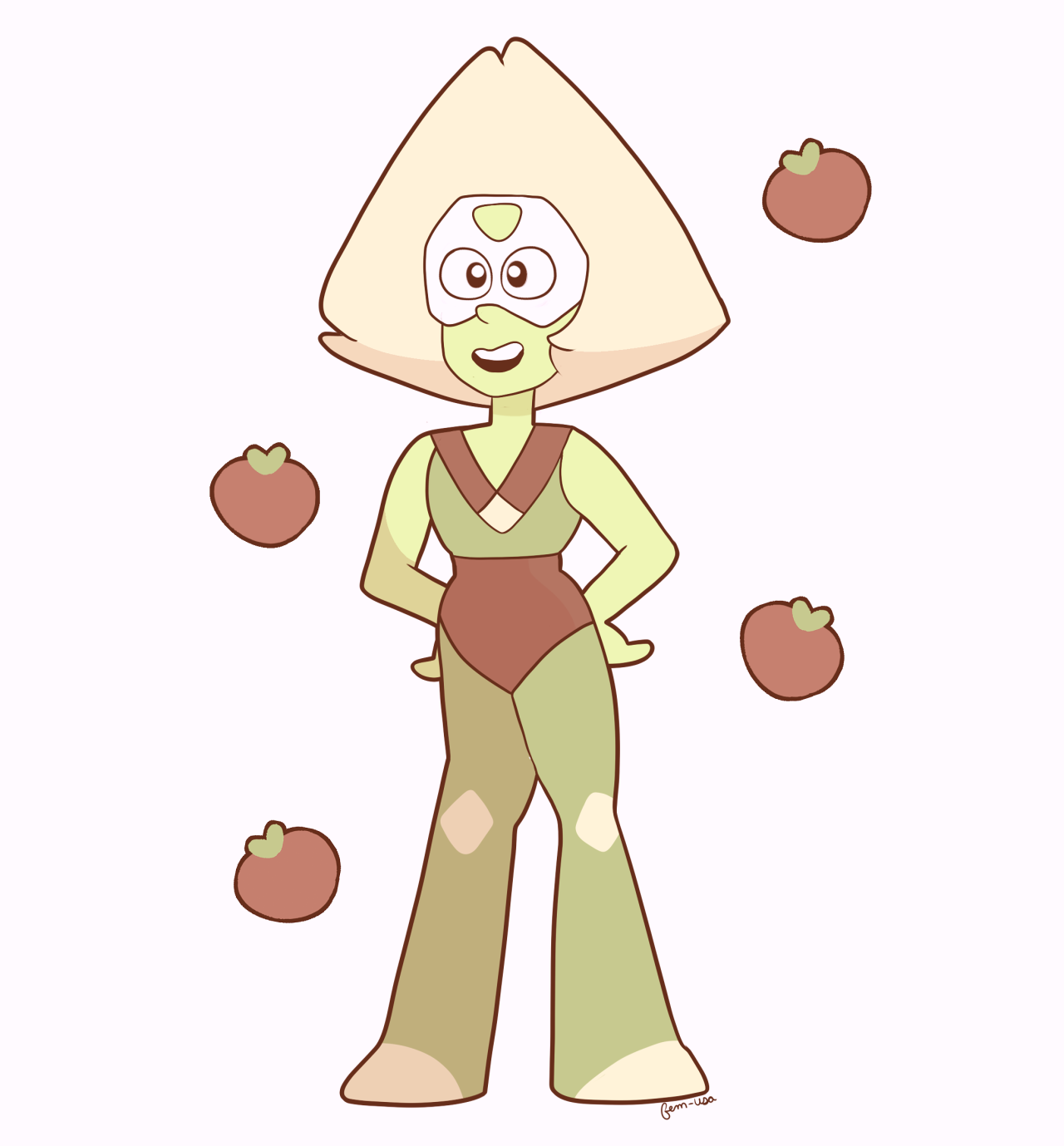 harvest season peridot for @loeden