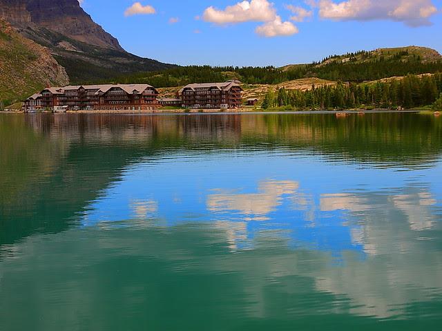 IMG_0310 Swiftcurrent Lake and Many Glacier Hotel, Glacier National Park
