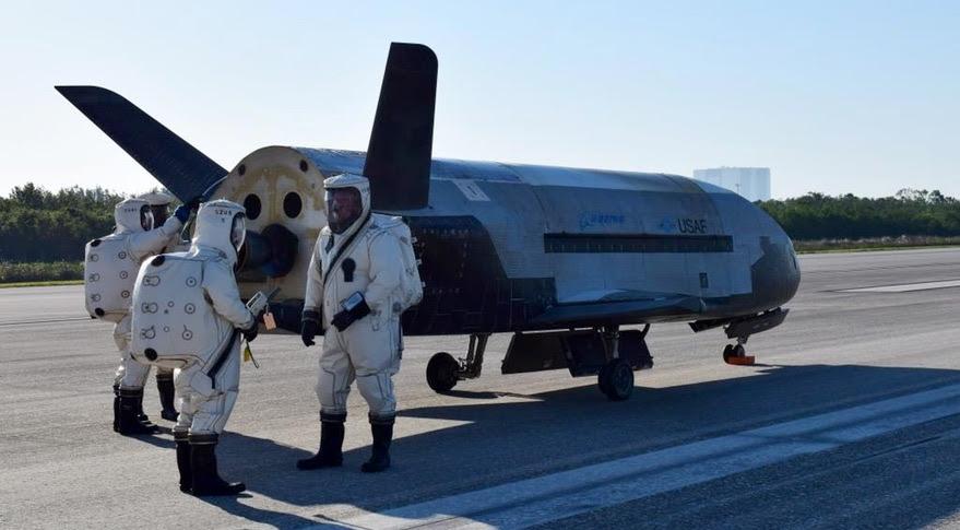 X-37B OTV-4 landing