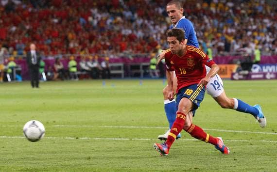 Jordi Alba - Spain-Italy - Euro 2012