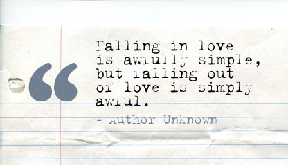 Quotes About Falling Out Of Love 79 Quotes