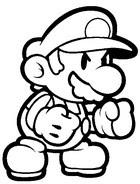 Disegni Da Colorare On Line Super Mario Morning Kids