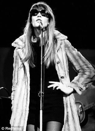Francoise no Hipódromo de Londres teatro em 1968