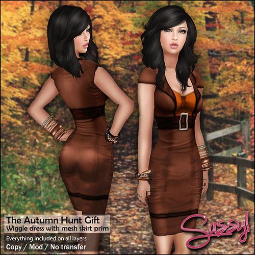 Autumn Hunt - Wiggle dress