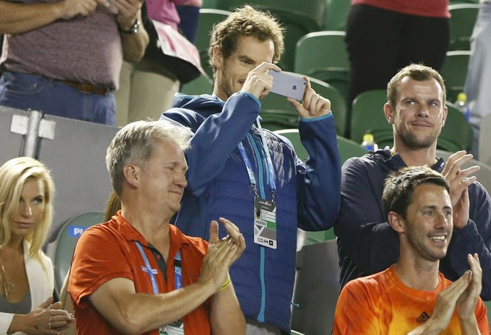 Andy Murray Aberto da Austrália Tênis (Foto: Reuters)