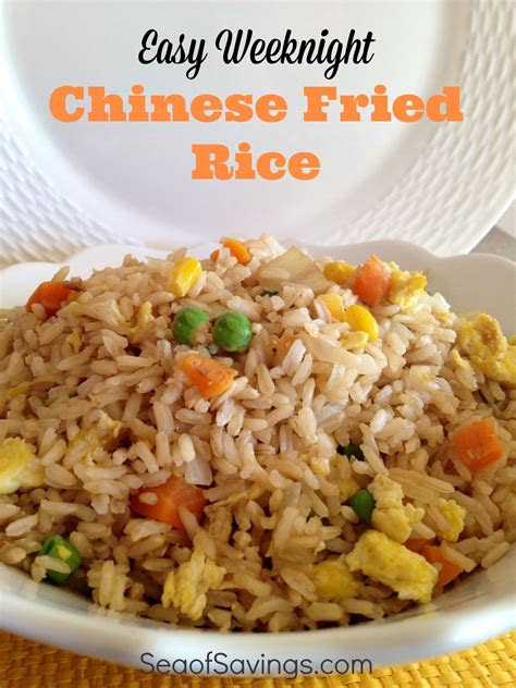 chinese rice recipe ideas  pinterest fried