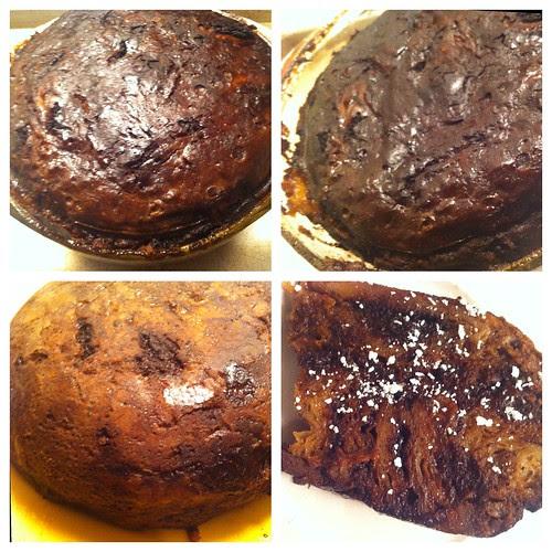 Banana Chocolate Bread Pudding by Ayala Moriel