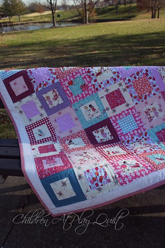 Children At Play Quilt by Fitri D. // Rumah Manis
