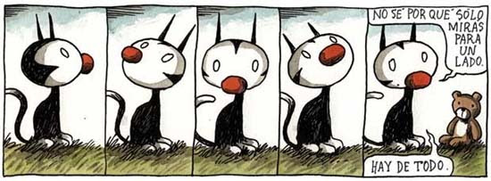 Felini, the cat in the Liniers