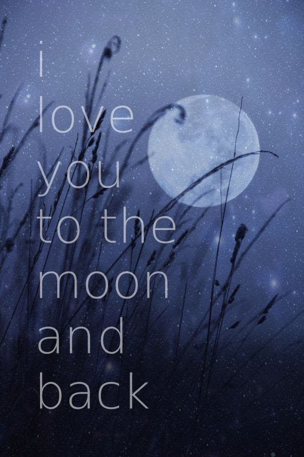 I Love You To The Moon And Back Pictures Photos And Images For