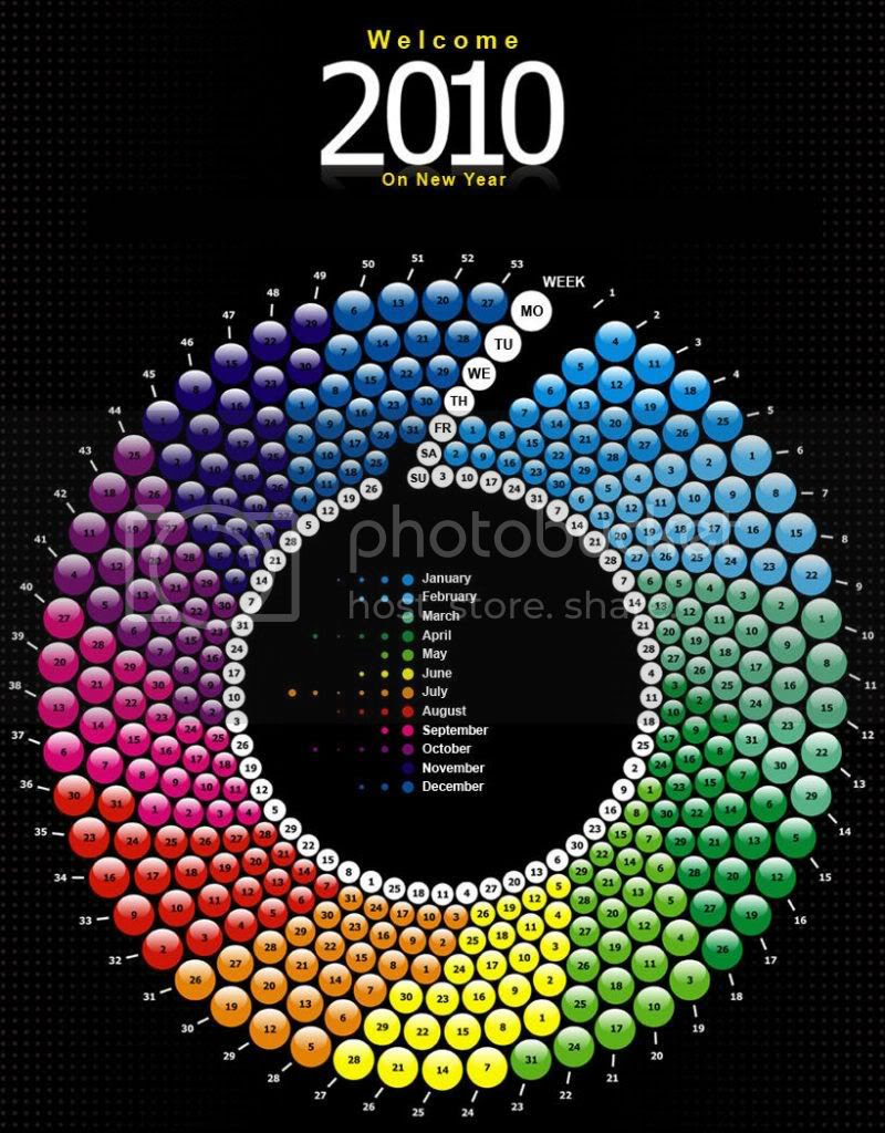Creative Calendar for 2010