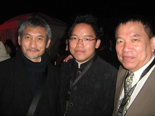 With Tsui Hark, Dubai Film Fest 2008 Closing Ceremony