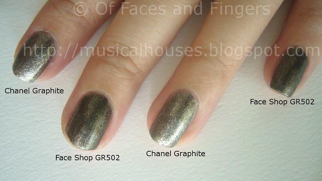 Chanel Graphite Dupe Face Shop GR502 (2)