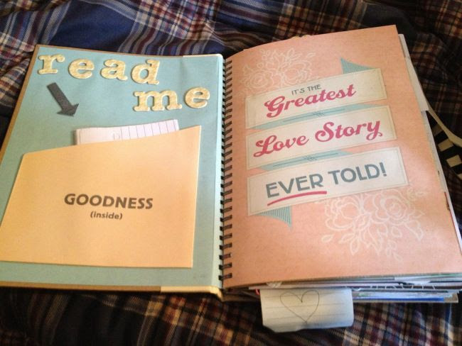 crafty DIY present for your boyfriend fiance or husband, your story ...