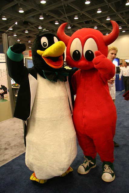 Tux & The BSD Daemon
